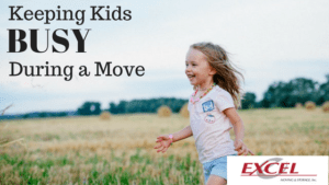 Excel Moving - Keeping Kids Busy