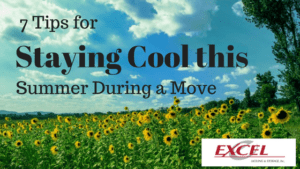 Excel Moving - Staying Cool