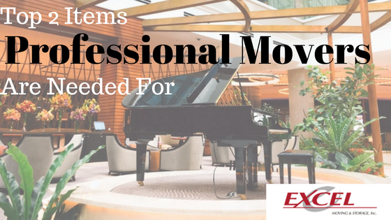 Top 2 Items Professional Movers Are Needed For