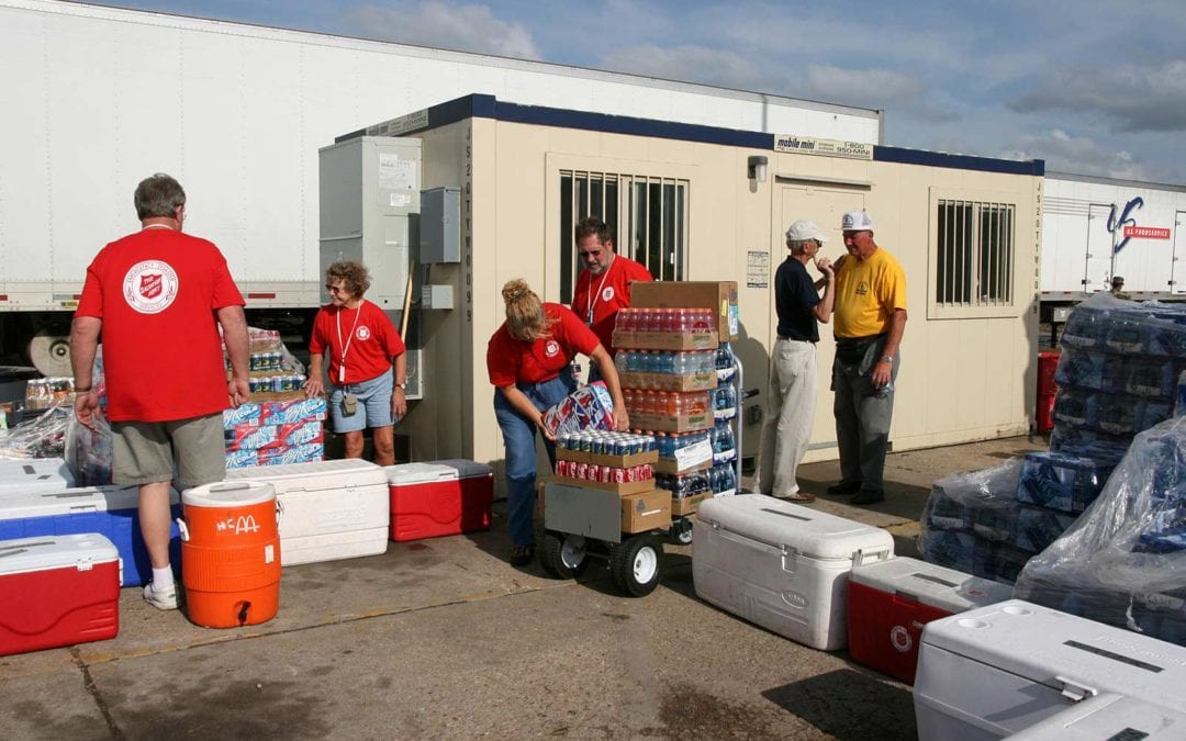 Excel Moving and Salvation Army Partnership